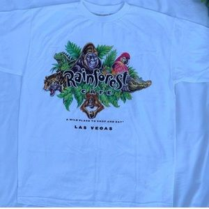 rainforest cafe tee